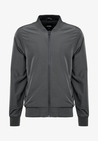 Burton Menswear London - CORE ALL - Bomberjacks - grey