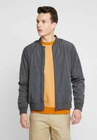 Burton Menswear London - CORE ALL - Bomberjacks - grey - 0