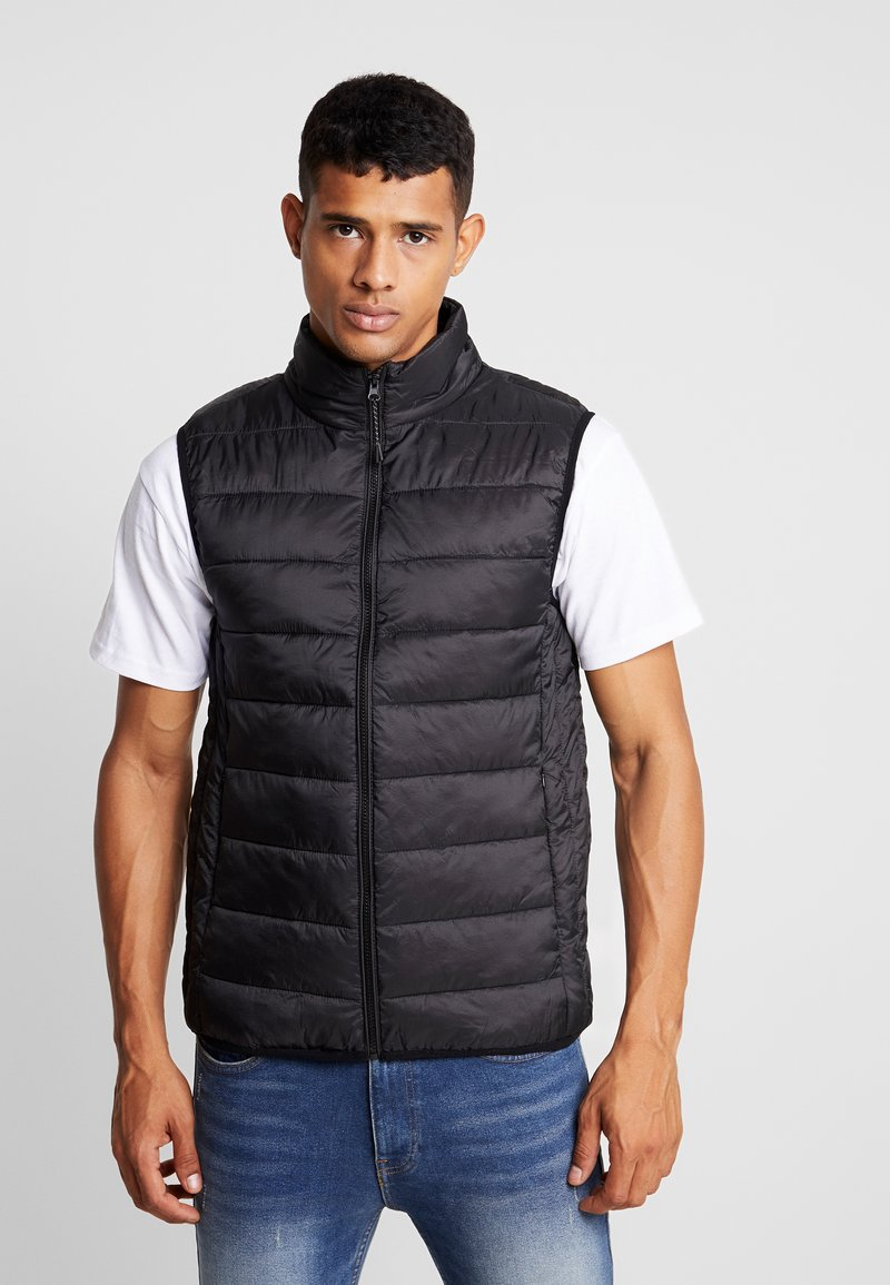 Burton Menswear London - WILLOW GILLET - Waistcoat - black