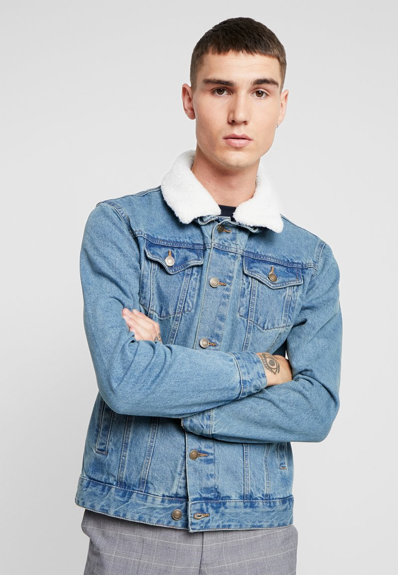 Burton Menswear London - BORG - Summer jacket - blue
