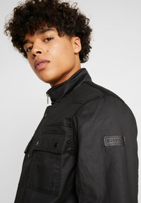 Burton Menswear London - WAX POCKET - Välikausitakki - black - 3