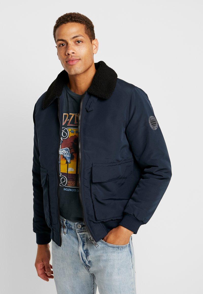 Burton Menswear London - FRANKLIN UPDATE - Winter jacket - navy
