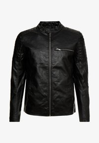 Burton Menswear London - RACER - Giacca in similpelle - black - 4