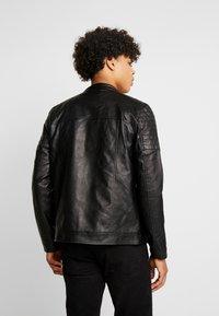 Burton Menswear London - RACER - Giacca in similpelle - black - 2