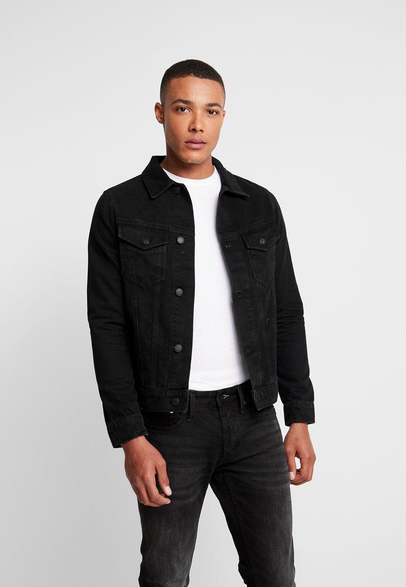 Burton Menswear London - Kurtka jeansowa - black