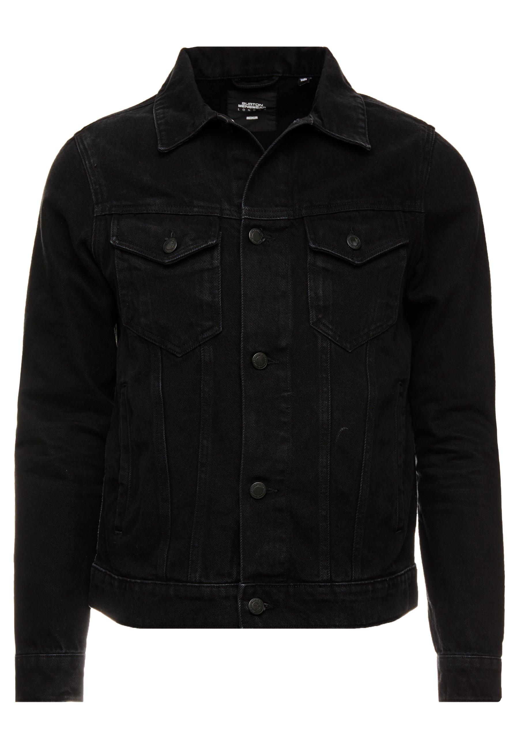Burton Menswear London Jeansjacke - Black