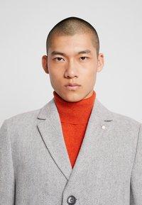Burton Menswear London - FAUX - Zimní kabát - light grey - 4