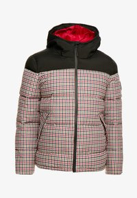Burton Menswear London - MINI CHECK ENZO - Winterjas - red - 4