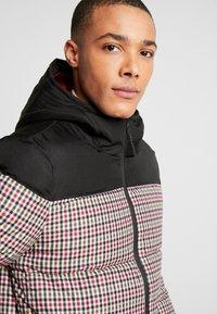 Burton Menswear London - MINI CHECK ENZO - Winterjas - red - 3