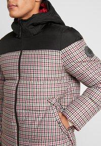 Burton Menswear London - MINI CHECK ENZO - Winterjas - red - 5