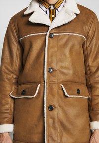 Burton Menswear London - DELBOY  - Faux leather jacket - brown - 5