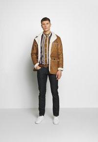 Burton Menswear London - DELBOY  - Faux leather jacket - brown - 1
