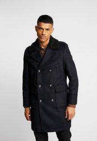 Burton Menswear London - MLTARY COAT - Cappotto classico - khaki - 0