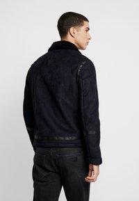 Burton Menswear London - BIKER - Veste en similicuir - black - 2