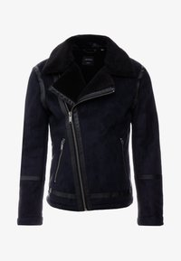 Burton Menswear London - BIKER - Veste en similicuir - black - 4