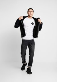 Burton Menswear London - BIKER - Veste en similicuir - black - 1