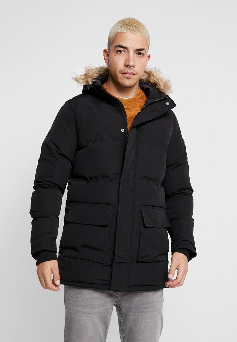 Burton Menswear London - BLACK ROGUE PARKA - Parkatakki - black