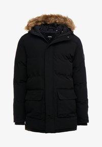 Burton Menswear London - BLACK ROGUE PARKA - Parkatakki - black - 4
