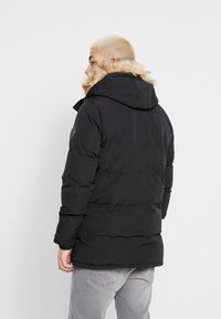 Burton Menswear London - BLACK ROGUE PARKA - Parkatakki - black - 2