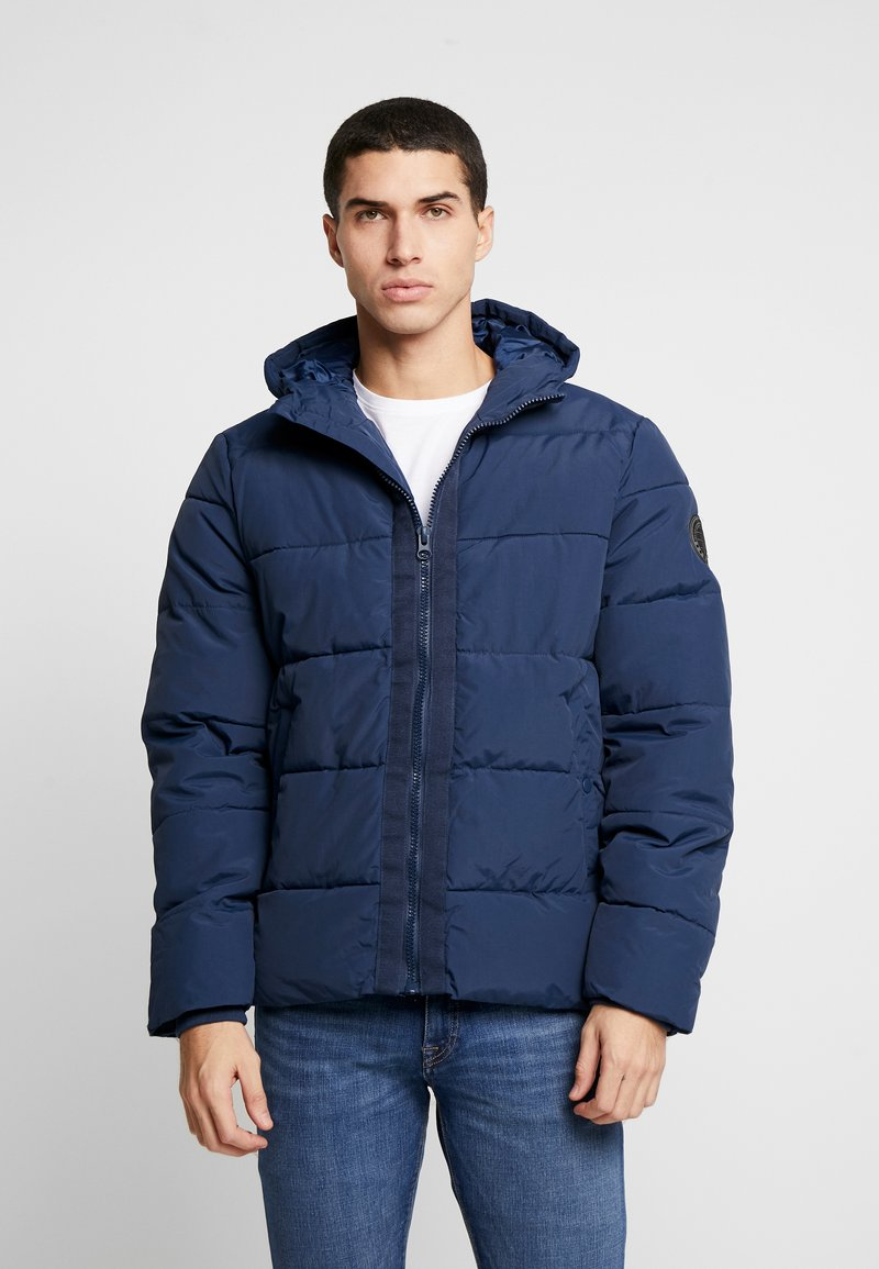 Burton Menswear London - RICH ASPEN PUFFER - Vinterjacka - blue