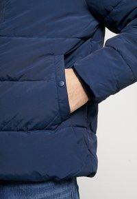 Burton Menswear London - RICH ASPEN PUFFER - Vinterjacka - blue - 5