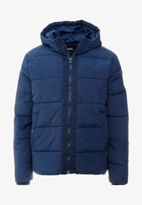 Burton Menswear London - RICH ASPEN PUFFER - Zimní bunda - blue - 4