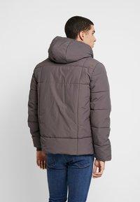 Burton Menswear London - ASPEN PUFFER - Zimní bunda - charcoal - 2