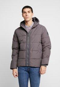 Burton Menswear London - ASPEN PUFFER - Zimní bunda - charcoal - 0