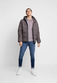 Burton Menswear London - ASPEN PUFFER - Zimní bunda - charcoal - 1