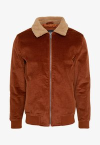 Burton Menswear London - COLLAR - Lett jakke - brown - 3