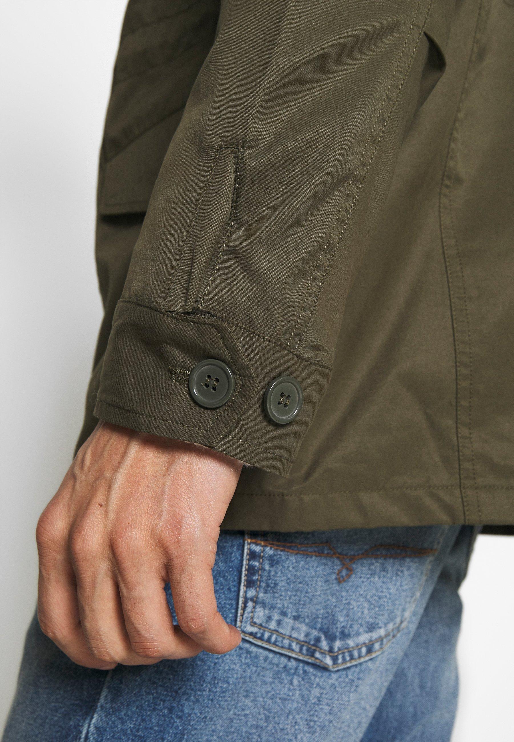 Burton Menswear London SAFARI - Giacca leggera - khaki
