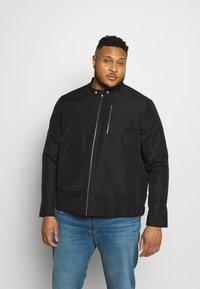Burton Menswear London - BIG RACER JACKET - Summer jacket - black - 0