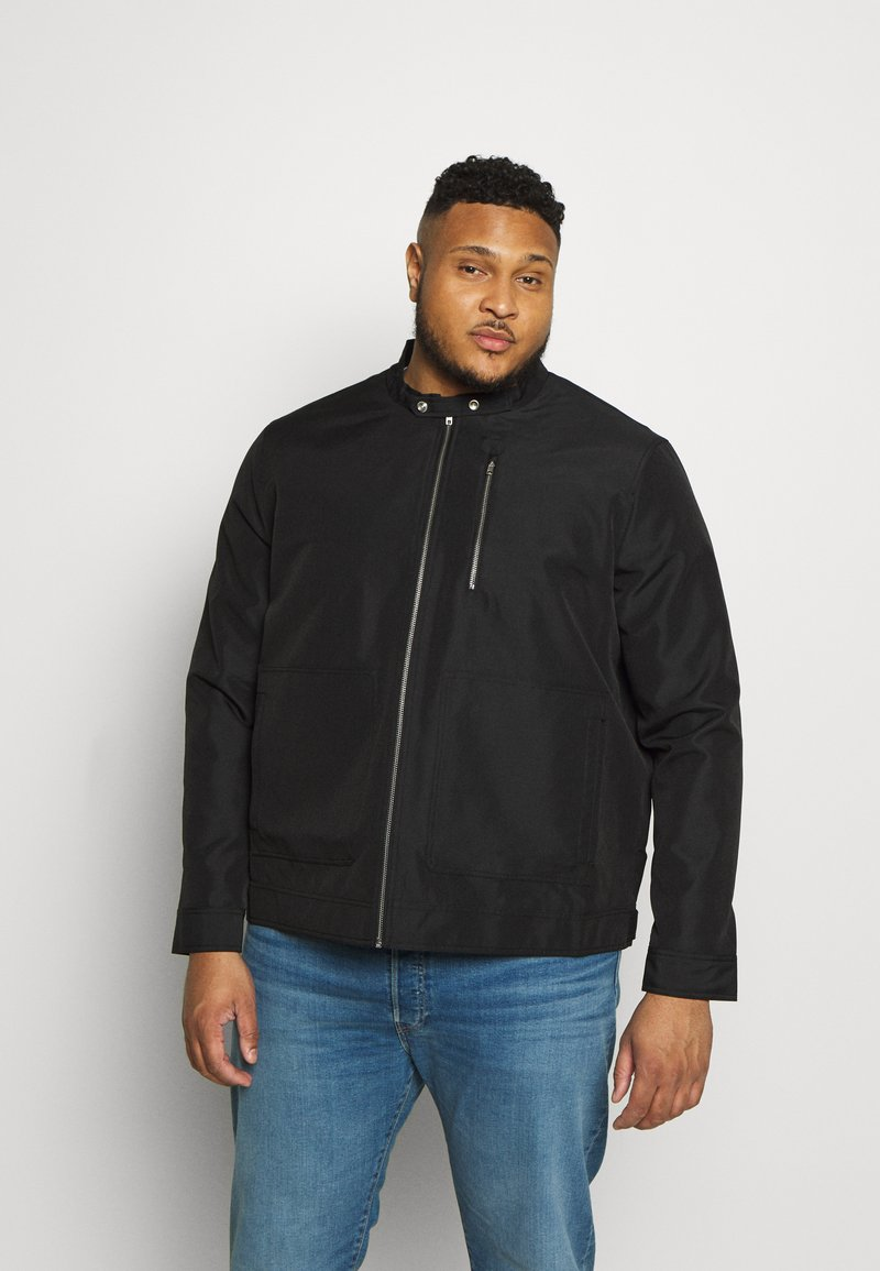 Burton Menswear London - BIG RACER JACKET - Summer jacket - black