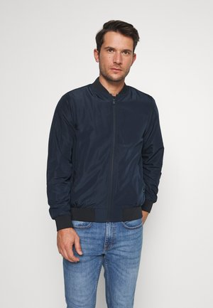 NAVY BOMBER - Bomber Jacket - navy