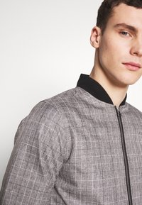 Burton Menswear London - MARL CHECK  - Bomberjacks - grey - 3