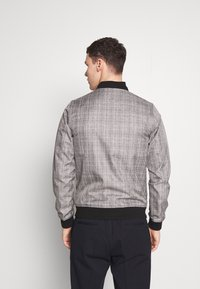 Burton Menswear London - MARL CHECK  - Bomberjacks - grey - 2