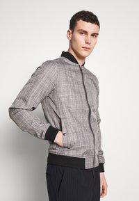 Burton Menswear London - MARL CHECK  - Bomberjacks - grey - 0