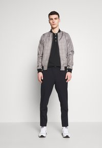 Burton Menswear London - MARL CHECK  - Bomberjacks - grey - 1