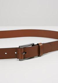 Burton Menswear London - TAB DETAIL - Gürtel business - brown - 4