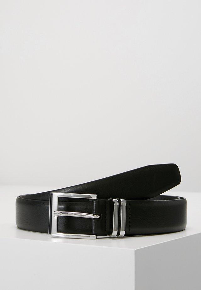 DOUBLE KEEPER - Belt business - black