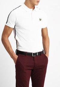 Burton Menswear London - DOUBLE KEEPER - Belt business - black - 1