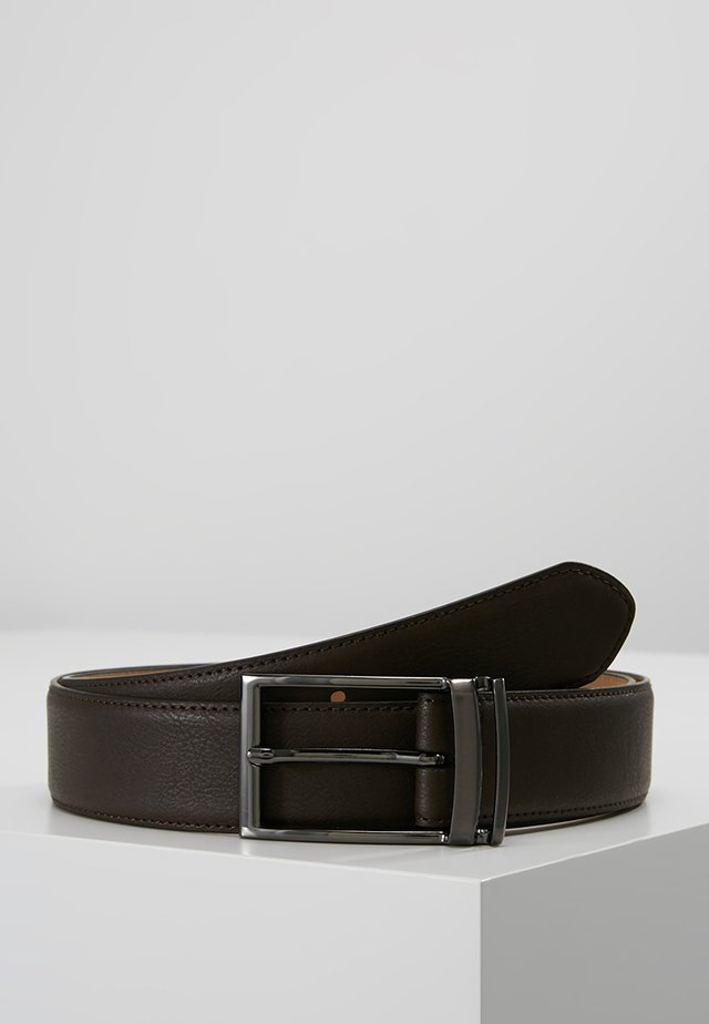 LOOP BUCKLE - Belte - brown