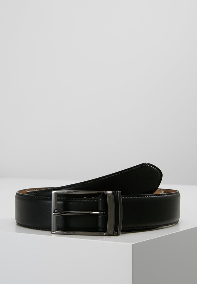 LOOP BUCKLE - Gürtel business - black