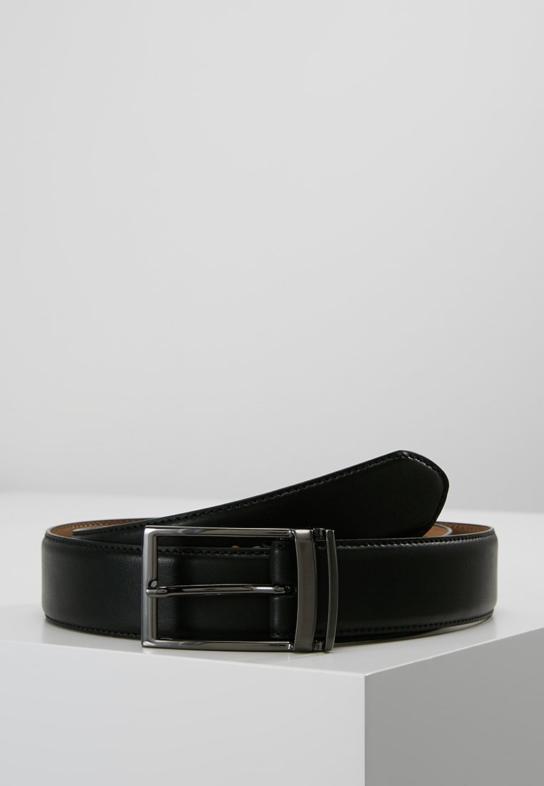 Burton Menswear London - LOOP BUCKLE - Cinturón - black