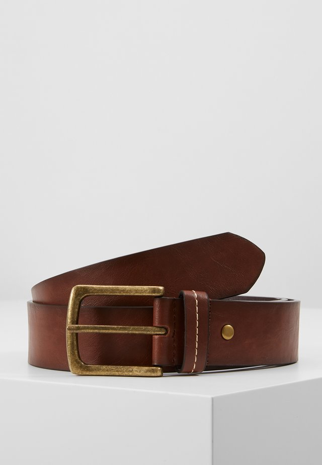 JEANS BELT - Gürtel - brown