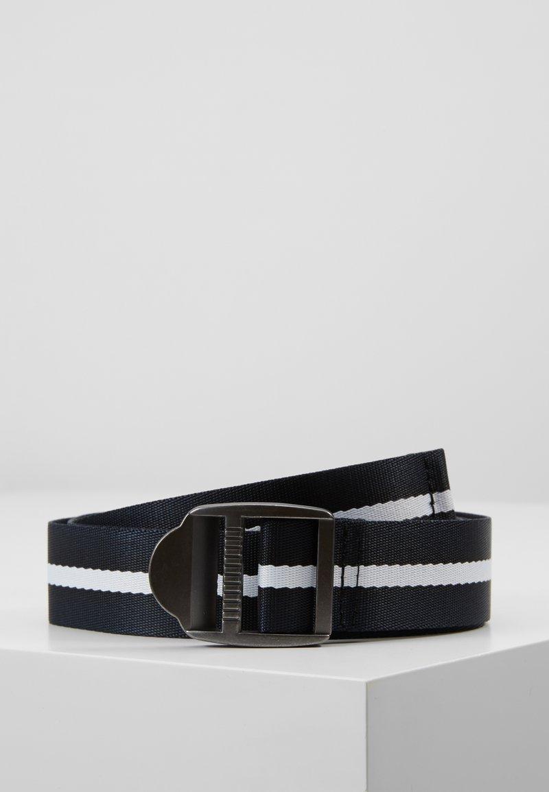 Burton Menswear London - STRIPE SEATBELT - Cinturón - navy