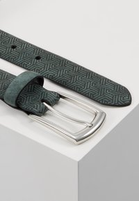 Burton Menswear London - GEO TEX BELT - Pásek - green - 2