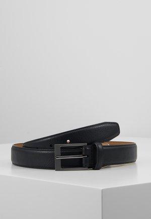 TEXTURED  - Belt - black