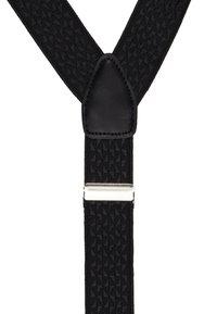 Burton Menswear London - BLACK TEXTURED BRACE - Accessoires Sonstiges - black - 2