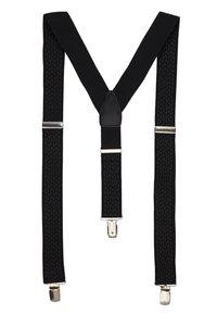 Burton Menswear London - BLACK TEXTURED BRACE - Accessoires Sonstiges - black - 1